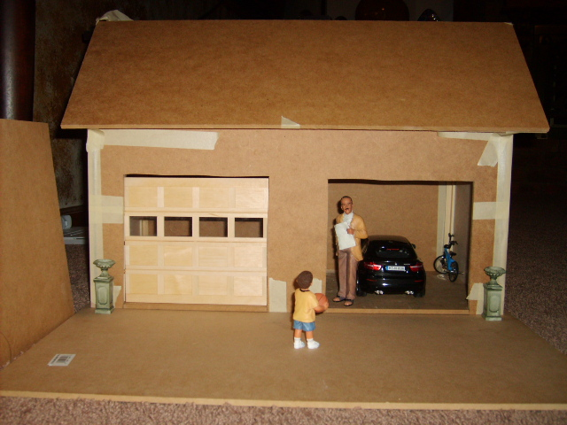 Jocelyn39s Mountfield Dollhouse Mountfield Dollhouse Garage