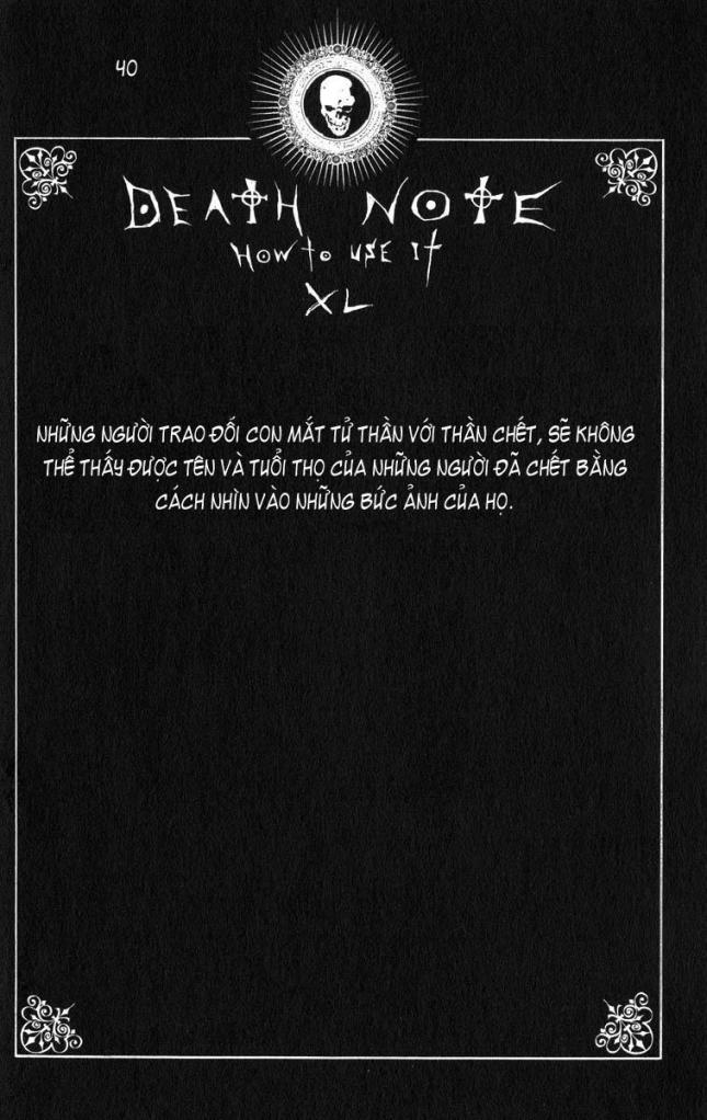 Death Note chapter 110 - how to use trang 43