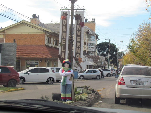Rua principal de Canela/RS