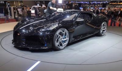 Sadece 1 Tane Üretilen Bugatti La Voiture Noire Aracını C. Ronaldo Satın Aldı