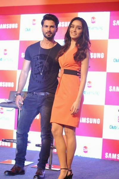 Shahid and Shraddha Kapoor