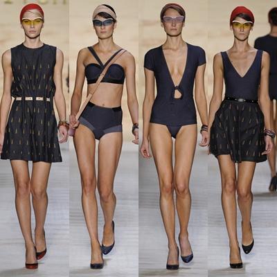 a94feacedf739 O vestido é a peça-chave do verão 2012 de Alexandre e veio em diferentes  formas