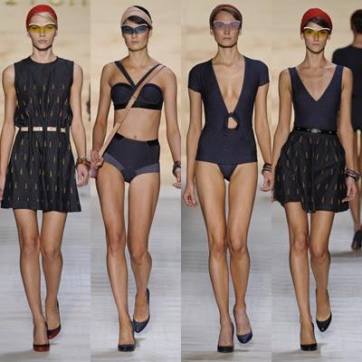 a24f23769c O vestido é a peça-chave do verão 2012 de Alexandre e veio em diferentes  formas