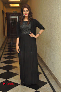 Actress Surabhi Stills in Black Long Dress at turodu Audio Launch  0099.JPG