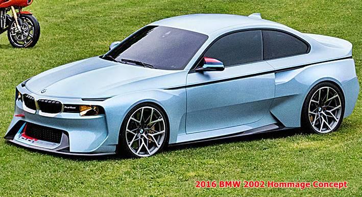 2016 Bmw 2002 Hommage Concept Auto Bmw Review