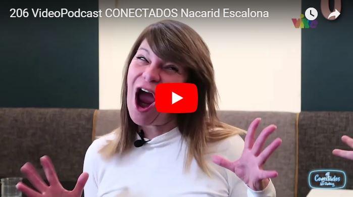 Luis Chataing entrevistando a Nacarid Escalona que ya perdió el acento