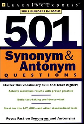 download 501 Synonyms and Antonyms Questions PDF by Learning Express