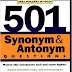 501 Synonyms and Antonyms Questions PDF by Learning Express