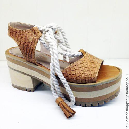 Moda primavera verano 2017. Moda sandalias verano 2017.