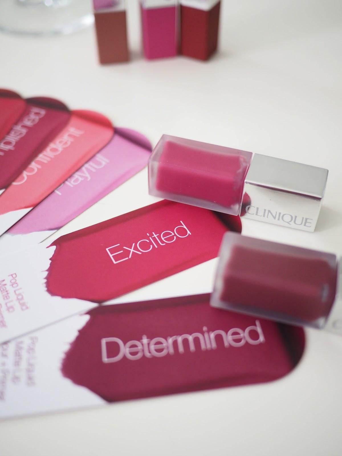 The Makeup Box: CLINIQUE Pop Matte and Pop Liquid Color ...