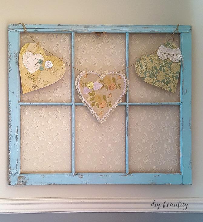 turquoise antique window