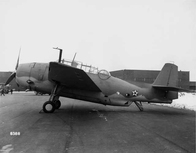 First production TBF-1 Avenger on Long Island, 9 January 1942 worldwartwo.filminspector.com