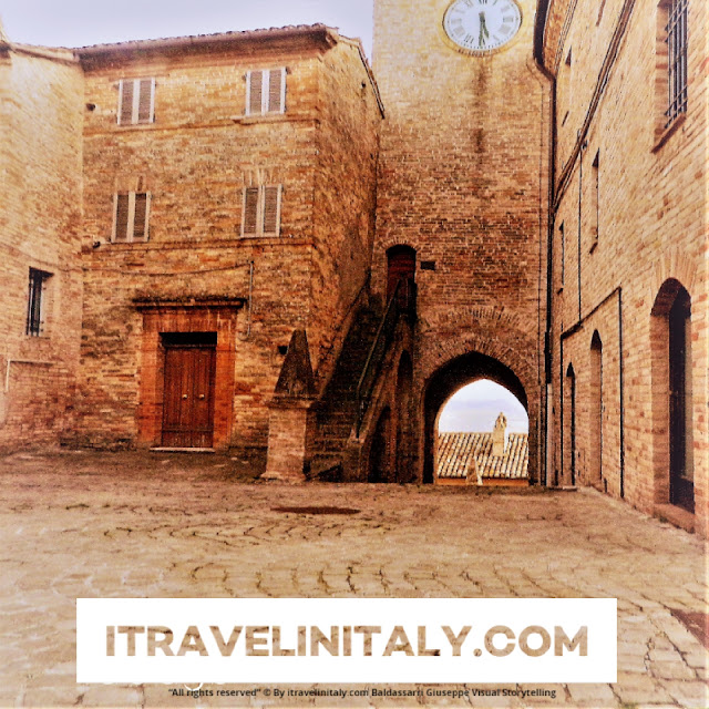 Clock Tower in Moresco @moresco Copyright All rights reserved © By itravelinitaly.com travelers from Italy Photo OnGoogleMaps by Baldassarri Giuseppe Visual Storytelling