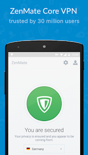ZenMate VPN – WiFi VPN Security & Unblock v2.6.4 Premium APK is Here !