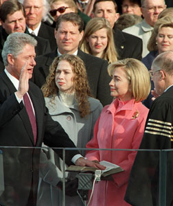 oath of office Bill Clinton