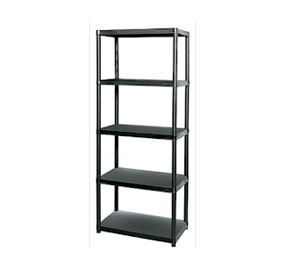 LOWEST, Keter 5-Tier Heavy Duty Shelving, outdoor storage – £14.99 (homebase)
