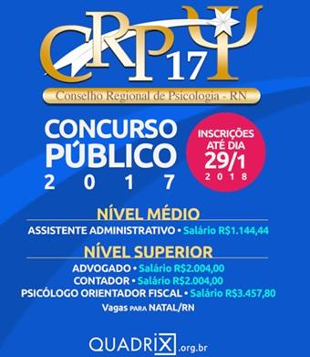 Concurso Público CRP-RN 2018