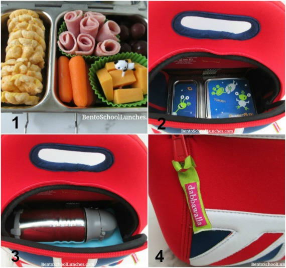 Dabbawalla Lunch Bag Review and Homemade Lunchables