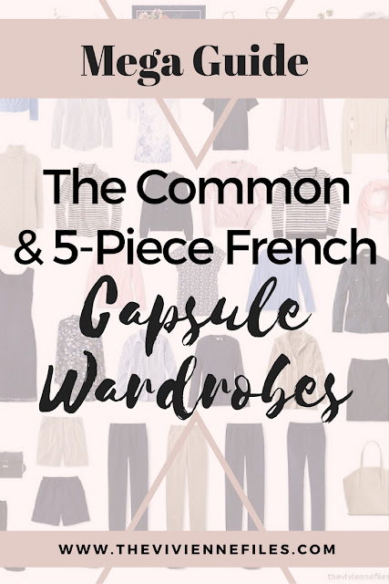 Mega Guide - The Common Capsule Wardrobe and 5-Piece French Wardrobe