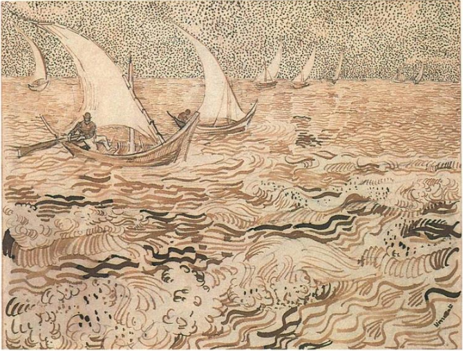 Line Drawing By Vincent Van Gogh : Bensozia van gogh drawings