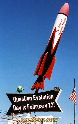 Question Evolution Day is February 12