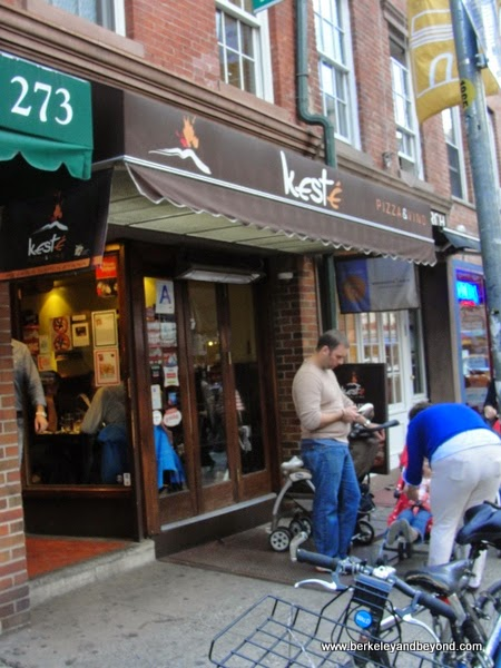 exterior of Keste Pizza & Vino in NYC