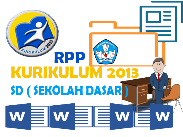 Download Contoh RPP Kurikulum 2013 SD Format Words