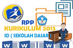 Contoh RPP Kurikulum 2013 SD Format Words