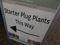 Starter plug plants poster