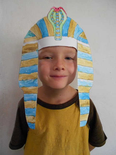 Egyptian Nemes Headdress
