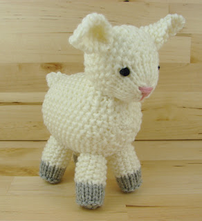 sheep, lamb, toy, knitting, stuffed, animal