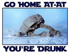 Star Wars drunk At-At