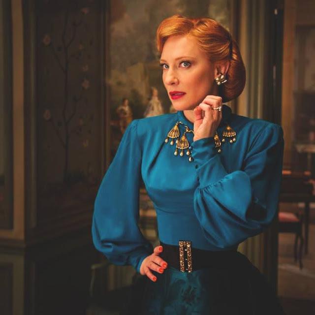 Indicados ao Oscar 2016: Melhor figurino,  Kate Blanchett, Lady Traimane, madrasta má, cinderela