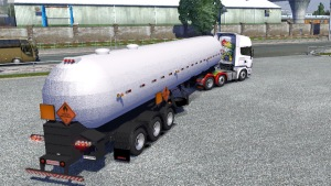 Tanker Trailer by TiraFina