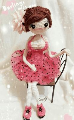 Кукла Хелена амигуруми