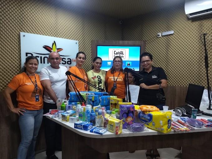 Voluntários do Energia do Bem atendem pedido para ajudar crianças da pediatria oncológica