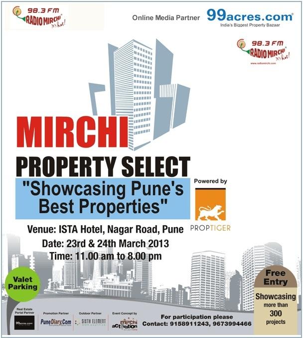 Wagholi Properties: 99acres Mirchi Property Select - Showcasing