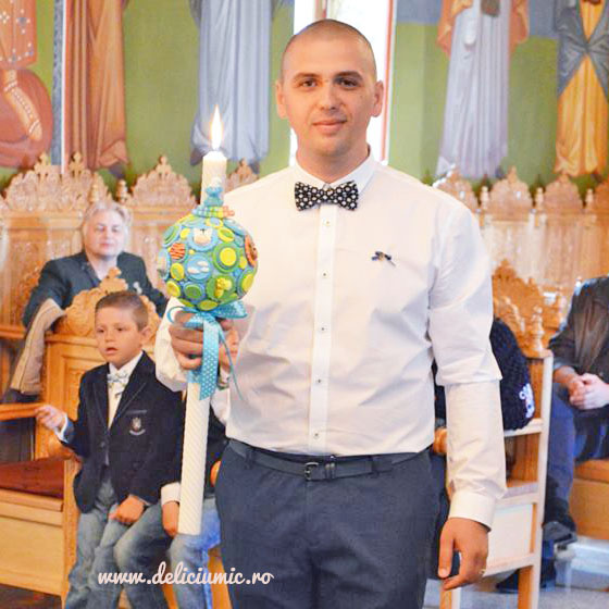 lumanari de botez pentru baieti