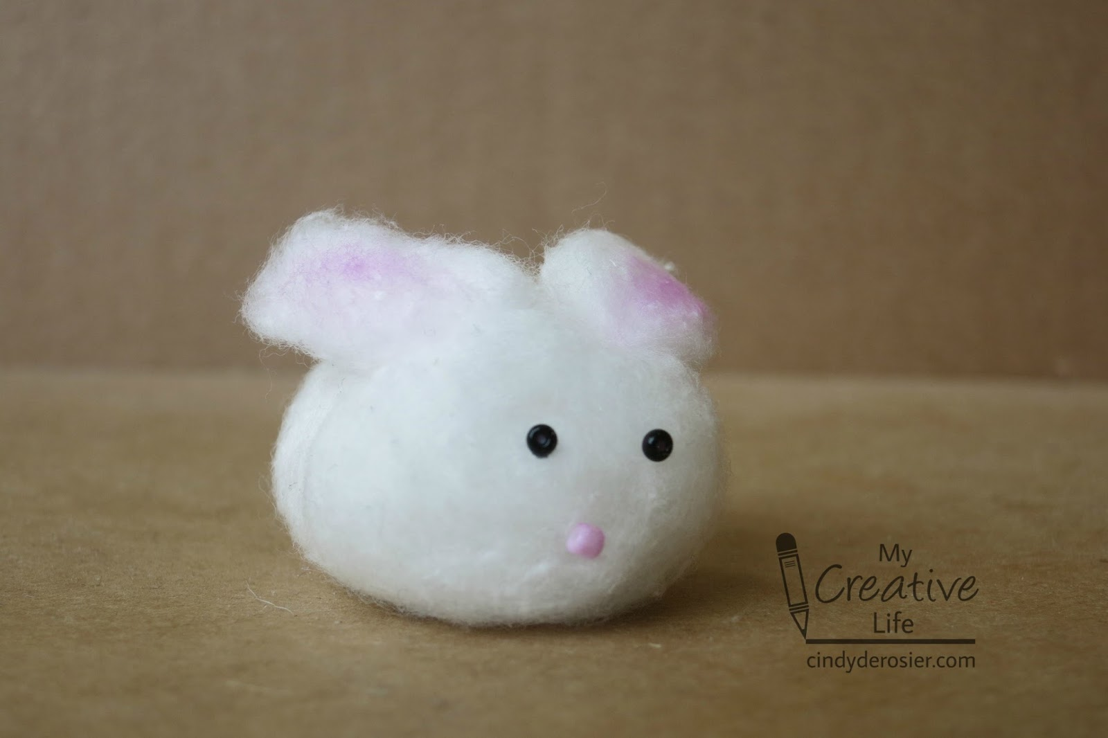 Cindy Derosier My Creative Life Bunny Week Day 2 Cotton Ball And The Language Of Lagomorphs