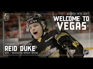 Vegas Golden Knights 2017 Entry Draft