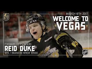 Vegas Golden Knights 2017 Entry Draft