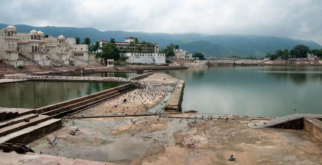 Ghat en Pushkar
