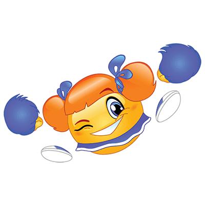 Cheerleader emoji