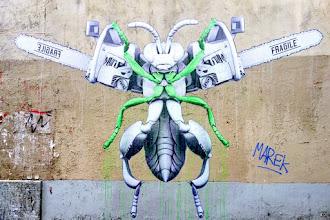 Sunday Street Art : Ludo - cour de la Métairie - Paris 20