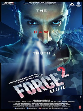 Free Download Force 2 2017 Hindi  BluRay 350mb