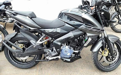 2017 Bajaj Pulsar 200NS side profile