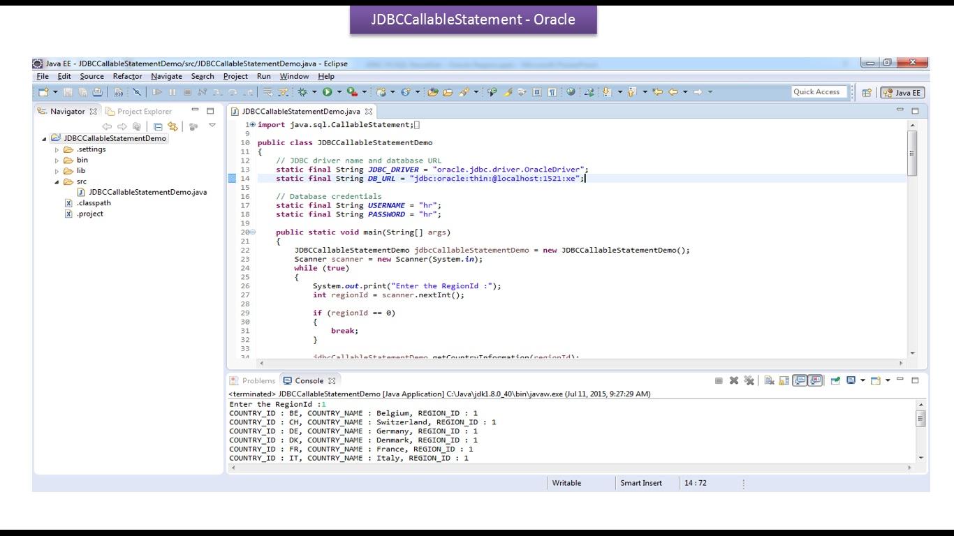 cursor in java jdbc