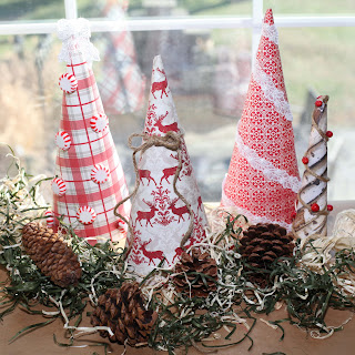 Paper Christmas trees How to