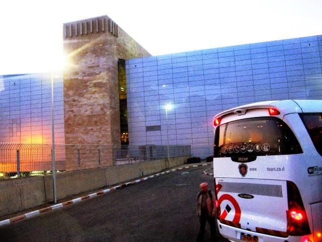 Parking na lotnisku w Tel Awiwie (Izrael)