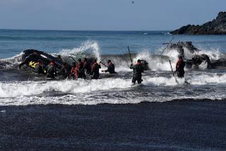 Latihan Pemantapan Regu Pandu Tempur Korps Marinir